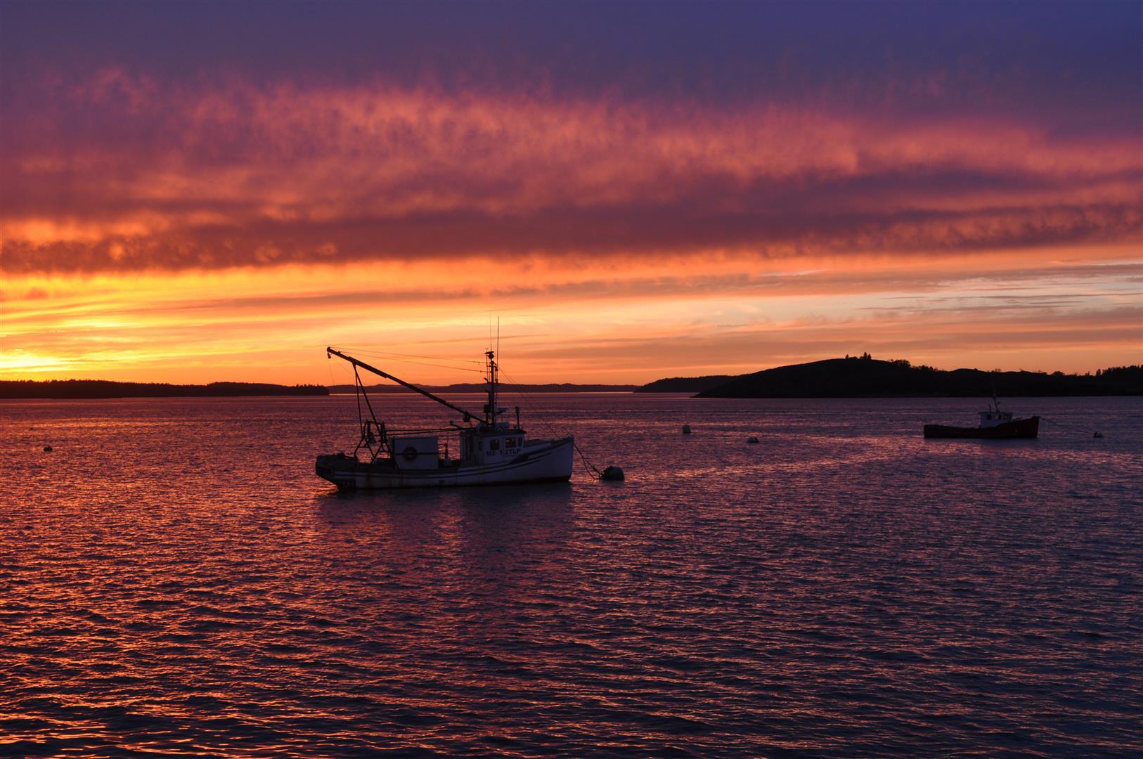 Sunset, Lubec, ME 3