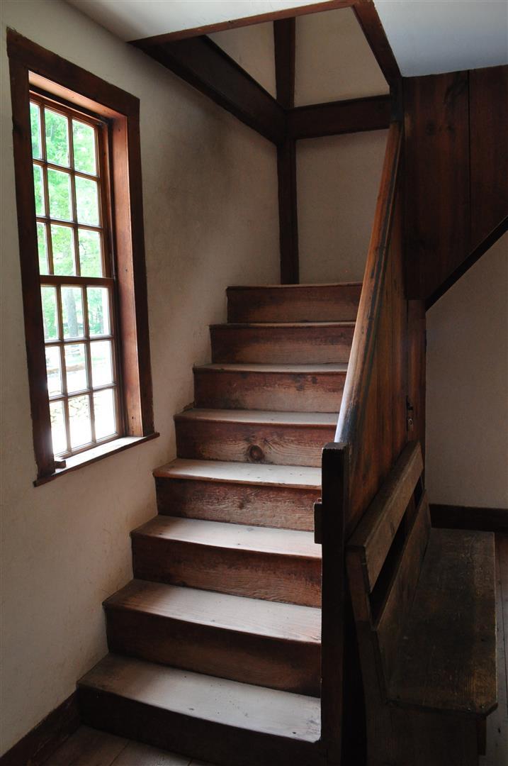 Stairway, Friends Meetinghouse