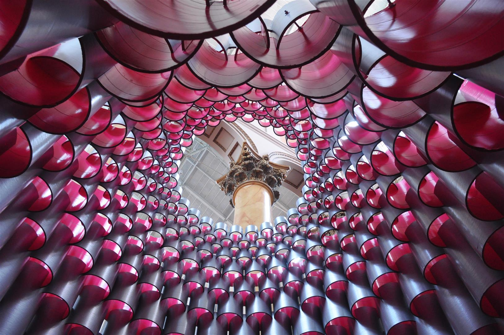 """Hive"" exhibit, National Building Museum"