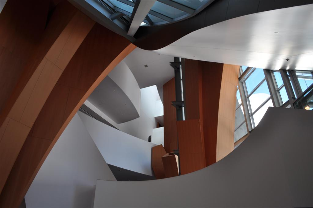 Disney Concert Hall Interior 2