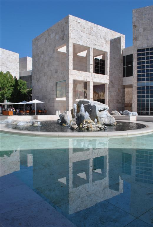 Getty Center Plaza 1