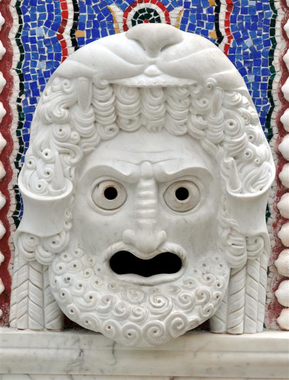 Getty Villa Face 1