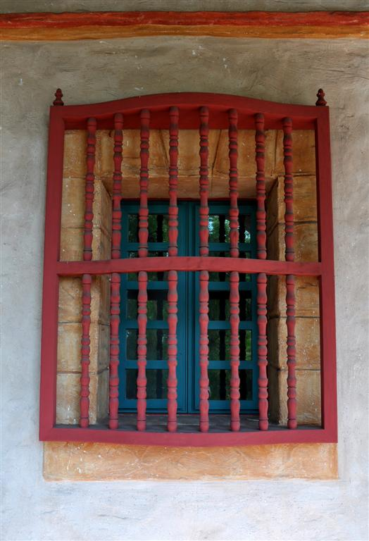 Santa Barbara Mission Window