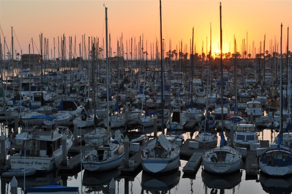 Ventura Harbor Sunset