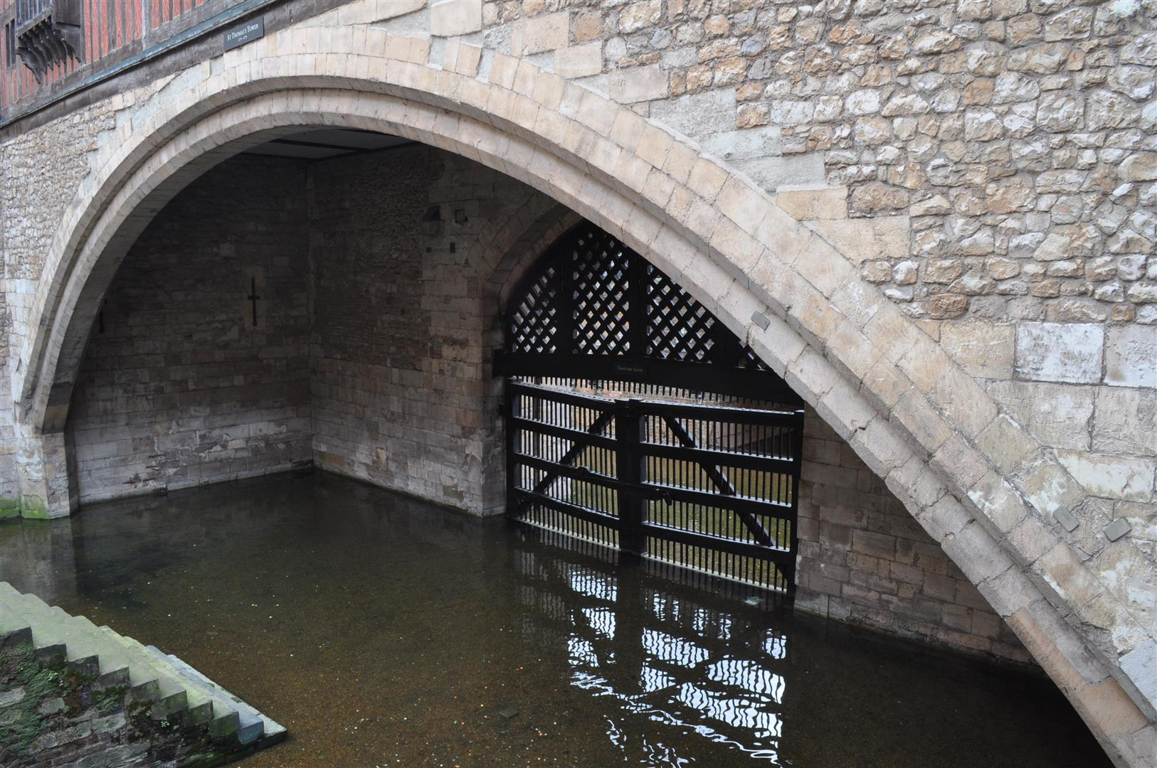 Traitor's Gate, Tower of London