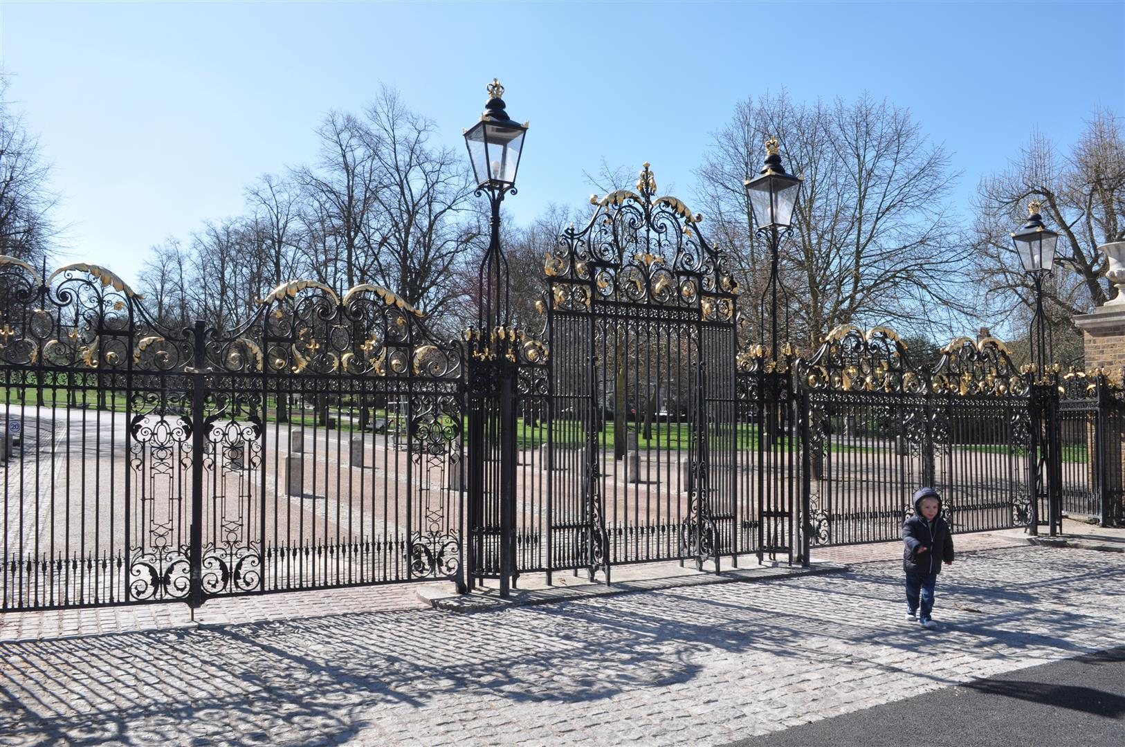 Gate, Royal Observatory, Greenwich