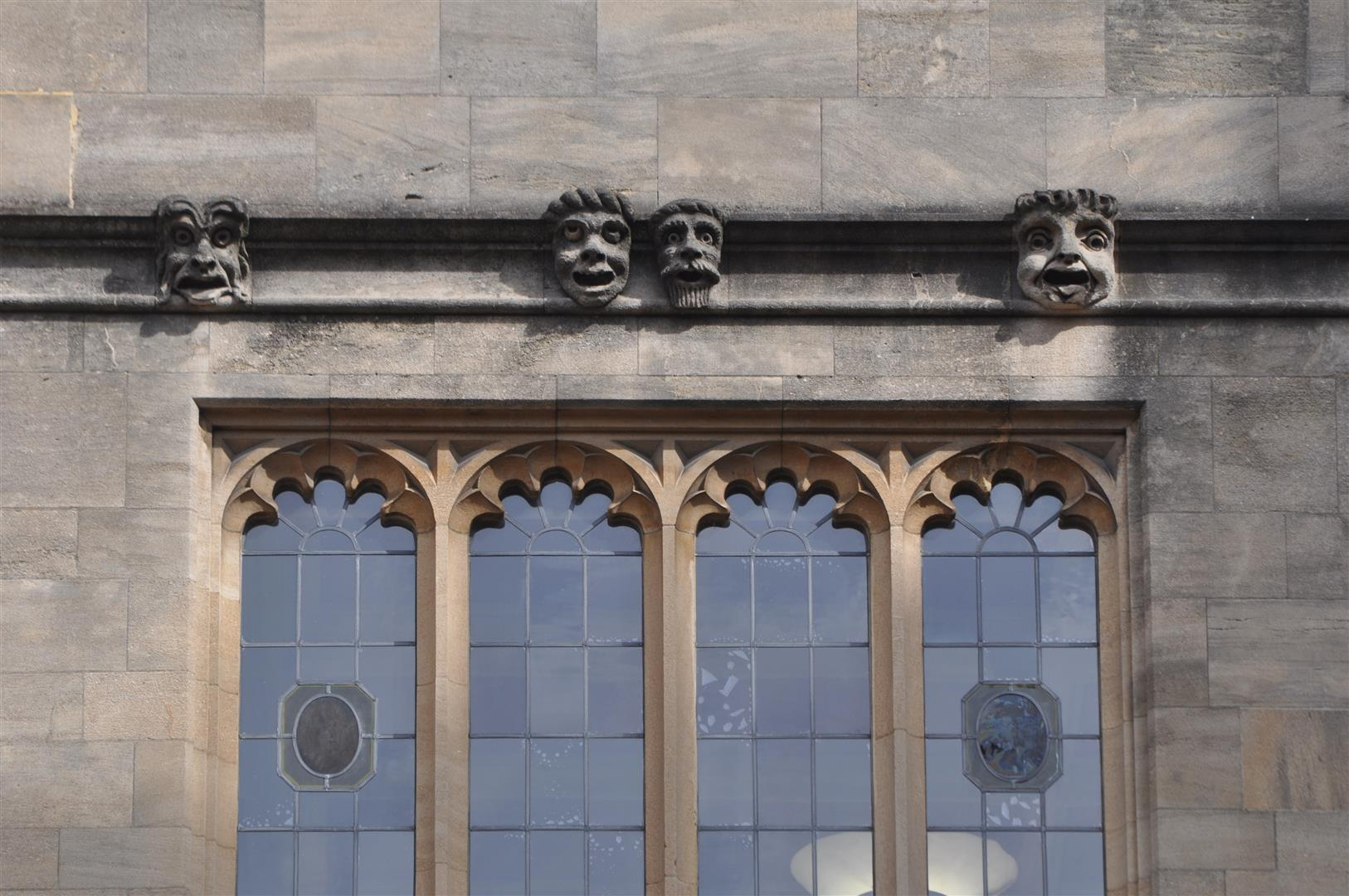 Detail 1, Bodleian Library, Oxford