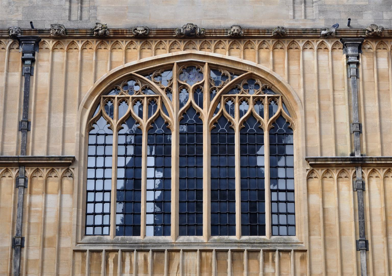 Window, Bodleian Library, Oxford