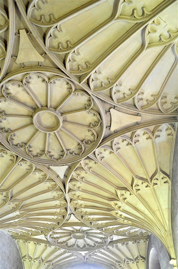 Ceiling Detail, Bodleian Library, Oxford