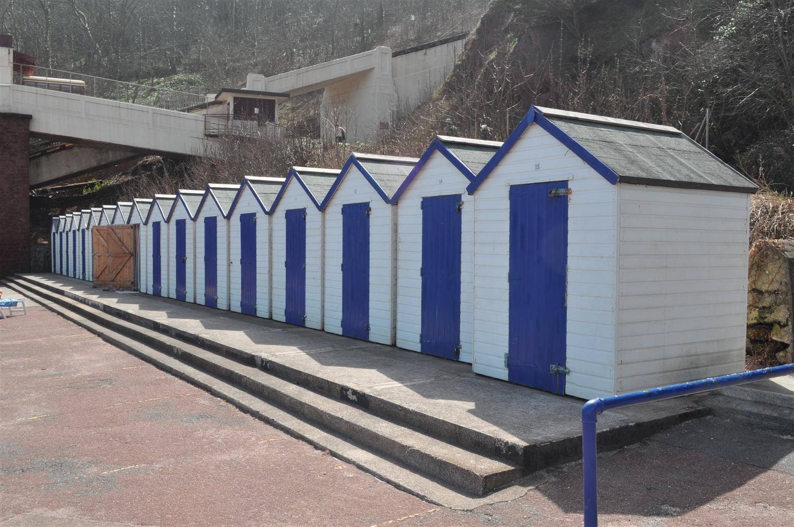 Changing Huts, Oddicombe Beach