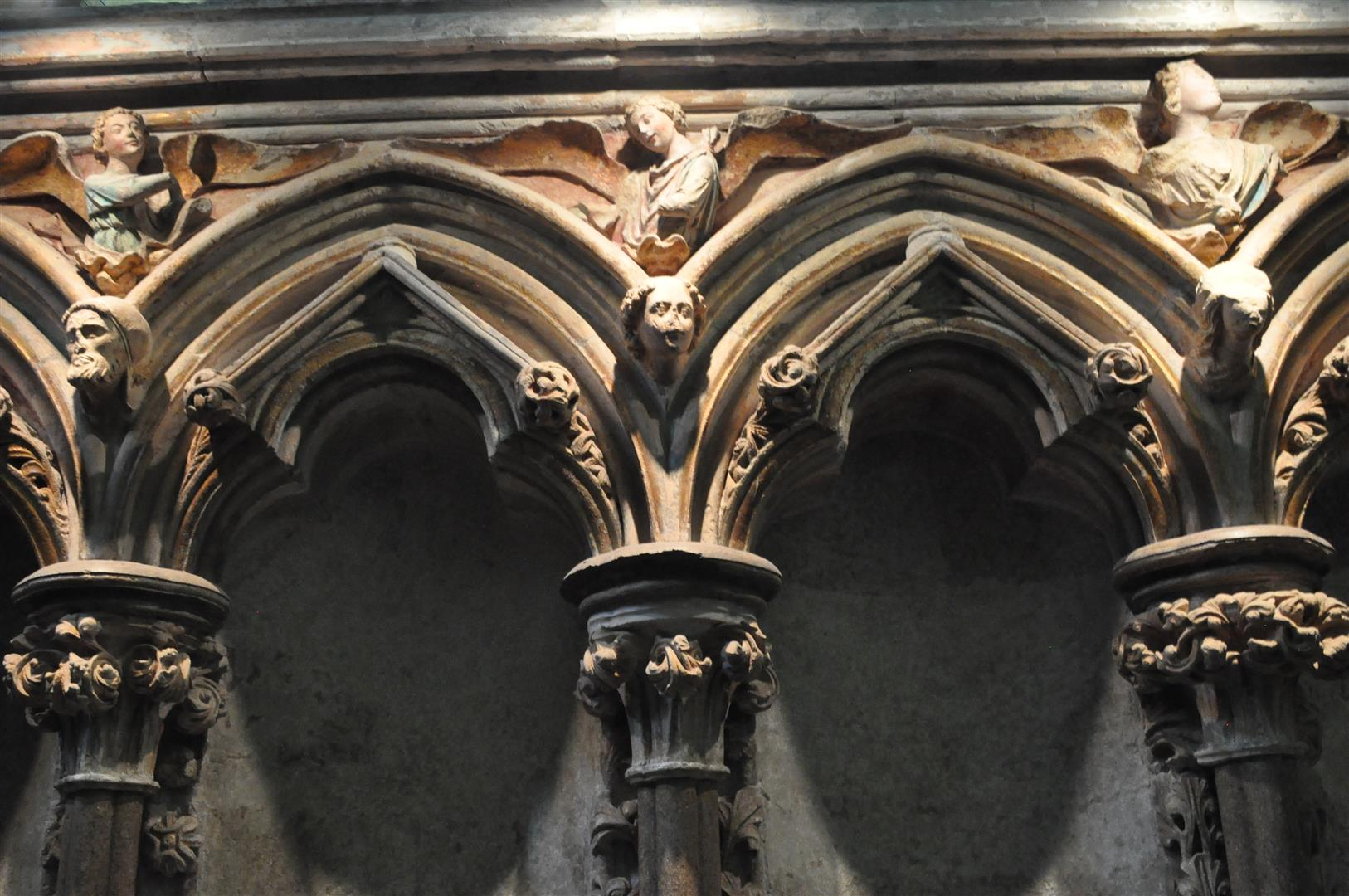 Detail, Salisbury Cathedral