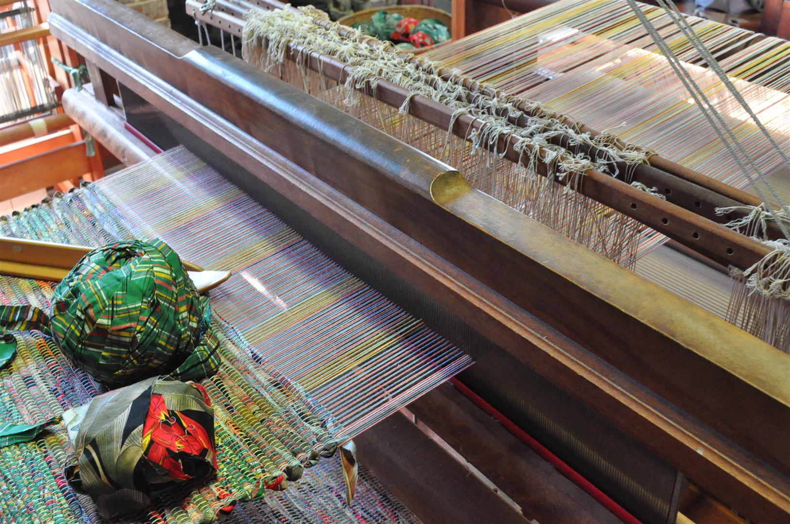 Heritage Village Loom Detail