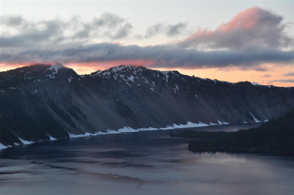 Crater Lake Sunset 2