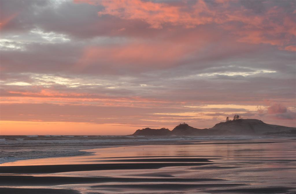 Sunset, Pacific City