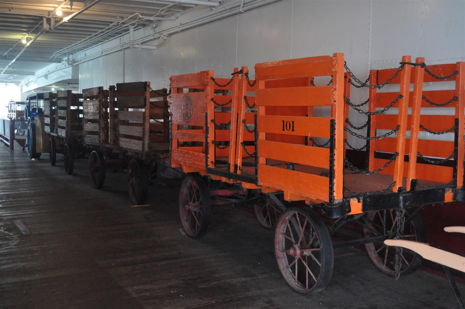 Eureka Mail Carts