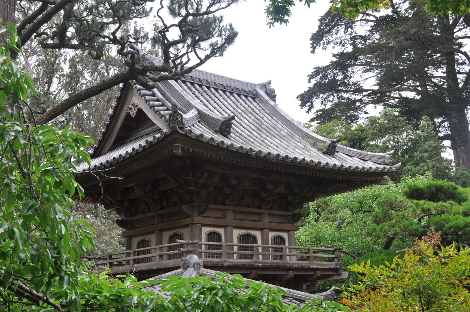 Main Gate Roof, Japanese Tea Garden